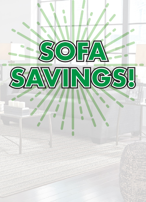 Sofas Starting at $299
