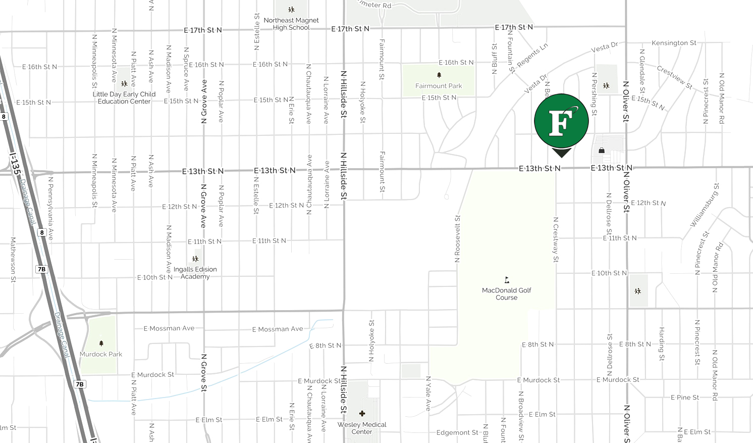 Furniture On Consignment Map