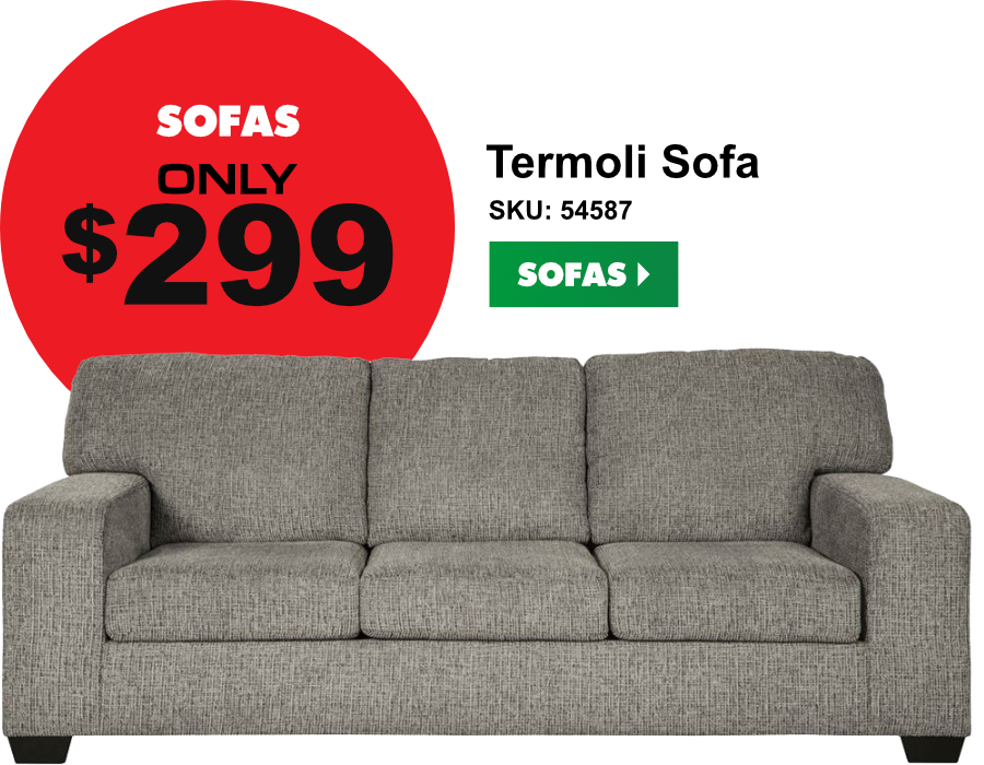 Sofas only $299