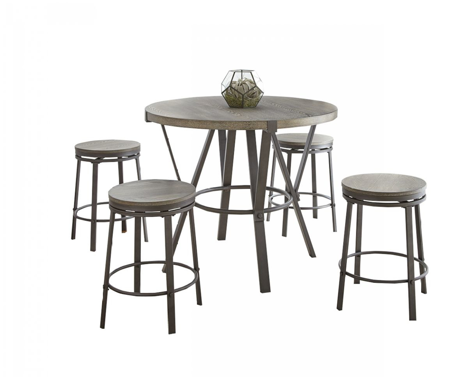 Picture of Portland Pub Table & 4 Stools
