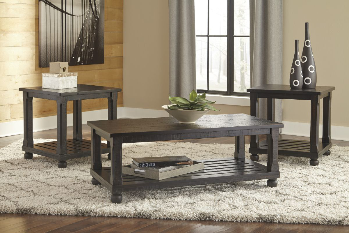 Picture of Mallacar 3 Piece Table Set