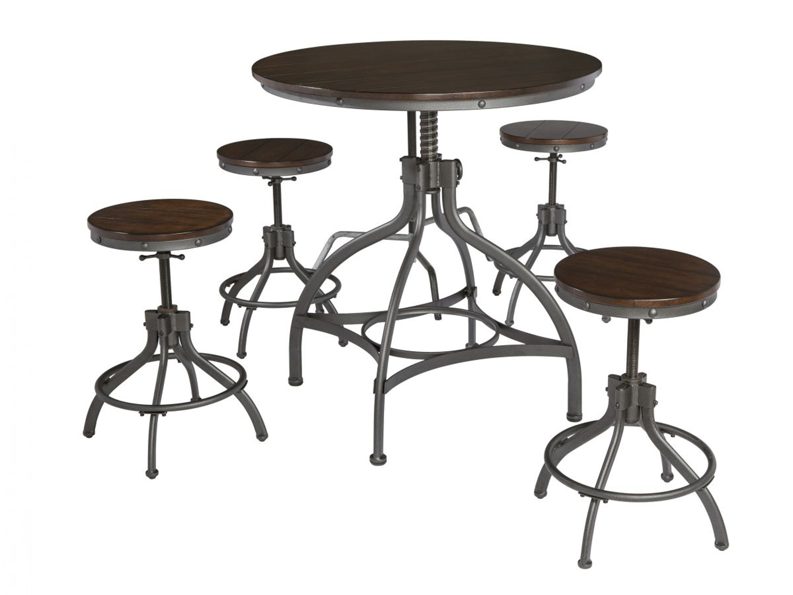 Picture of Odium Pub Table & 4 Stools