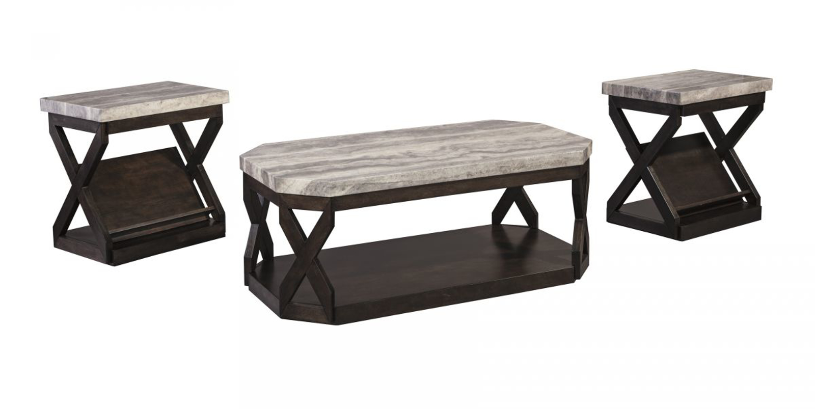 Picture of Radilyn 3 Piece Table Set