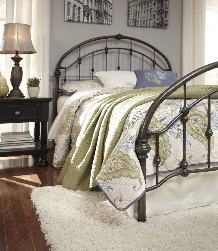 Picture of Nashburg King Size Bed