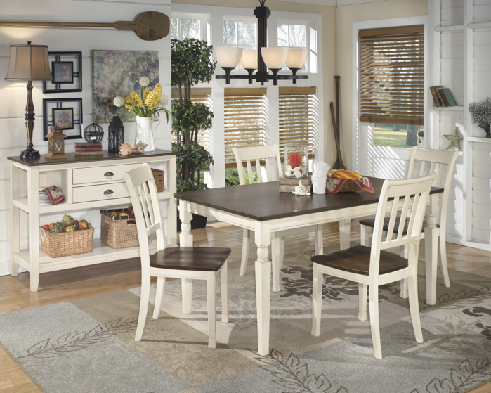 Picture of Whitesburg Table & 4 Chairs