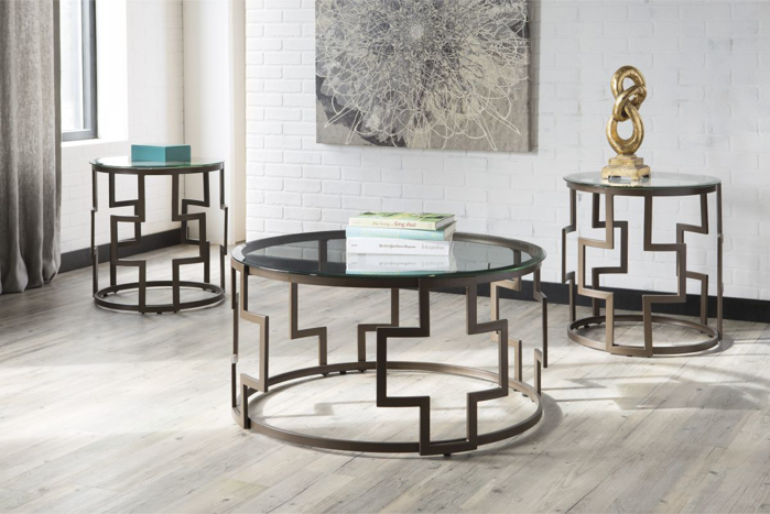 Picture of Frostine 3 Piece Table Set