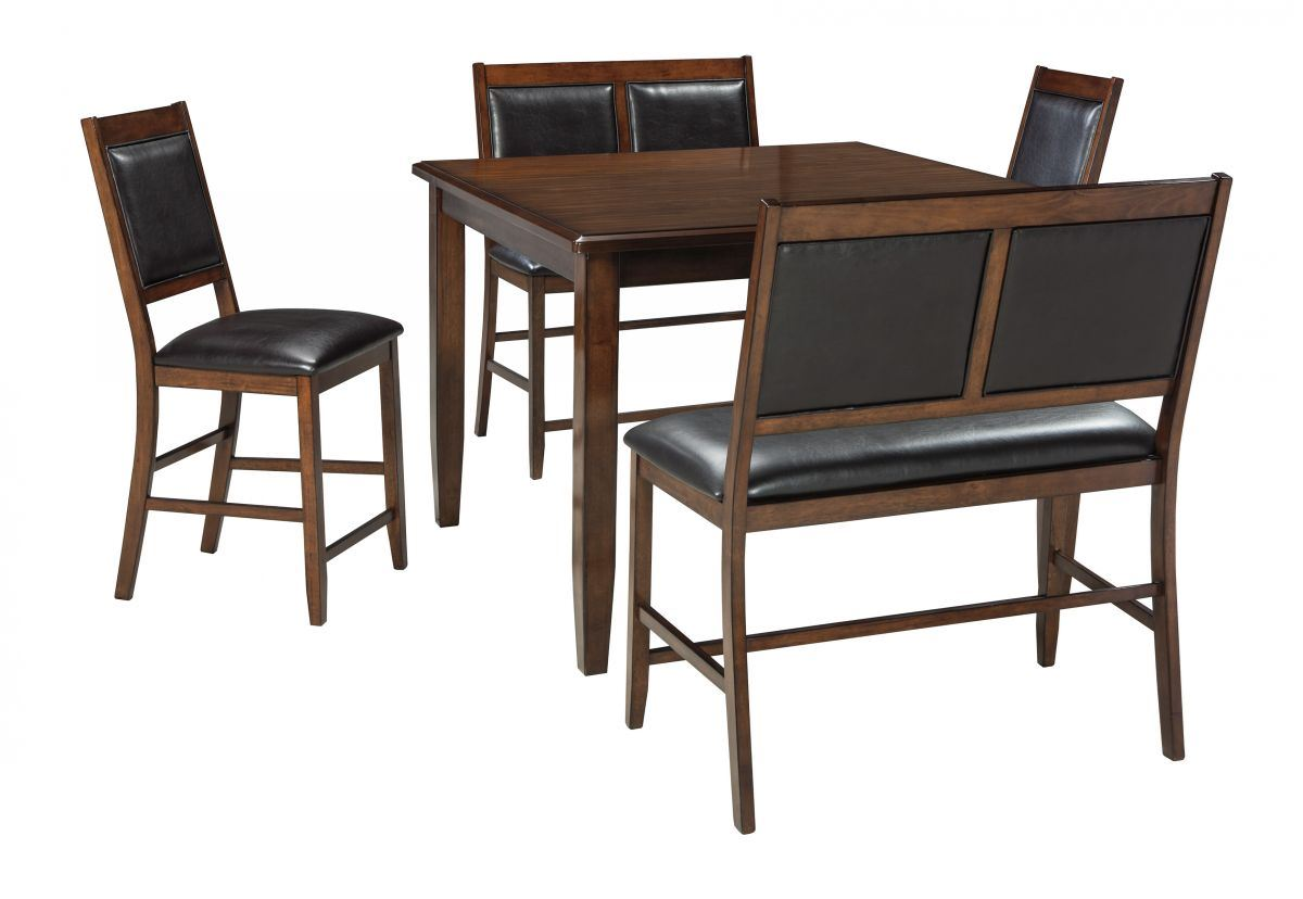Picture of Meredy Pub Table, 2 Stools & 2 Benches