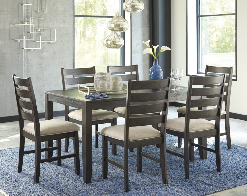Rokane Table & 6 Chairs