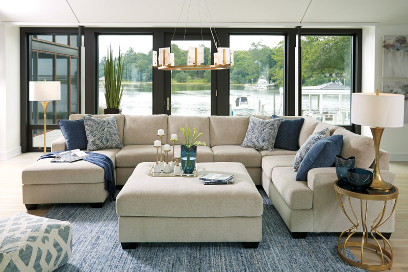 Enola Sectional with Ottoman