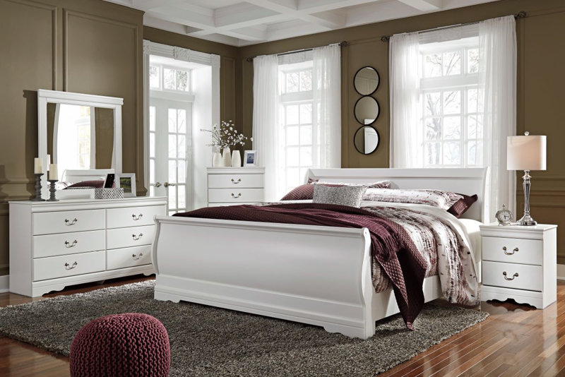 Anarasia King Size Bed