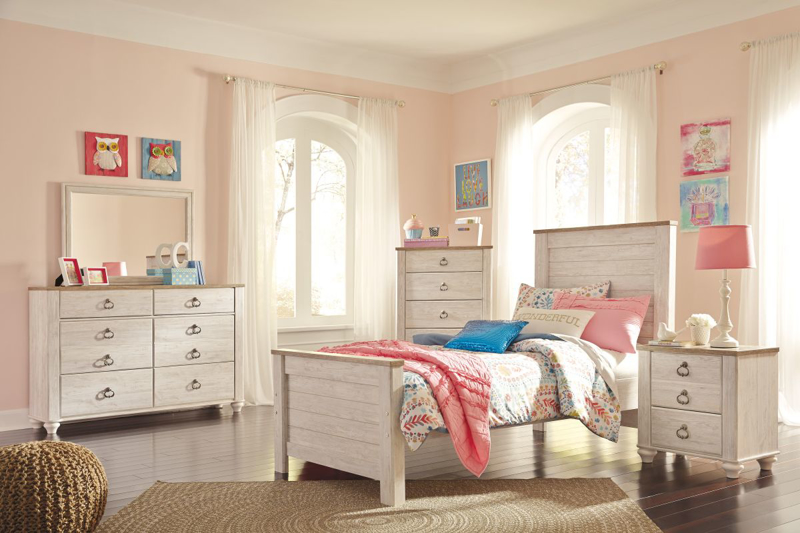 Willowton Twin Size Bed