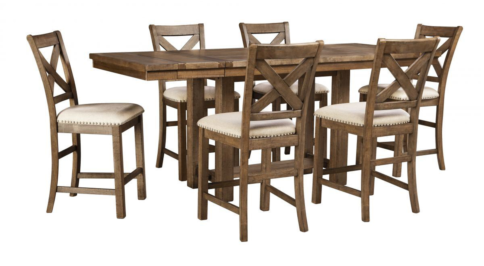 Picture of Moriville Pub Table & 6 Stools