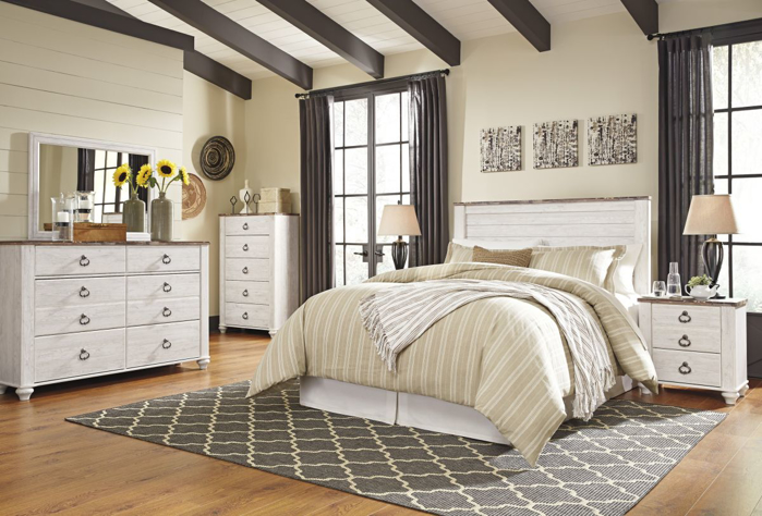 Picture of Willowton Full/Queen Size Headboard