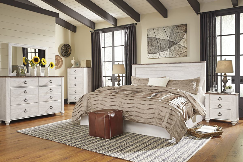 Willowton King/Cal-King Size Headboard