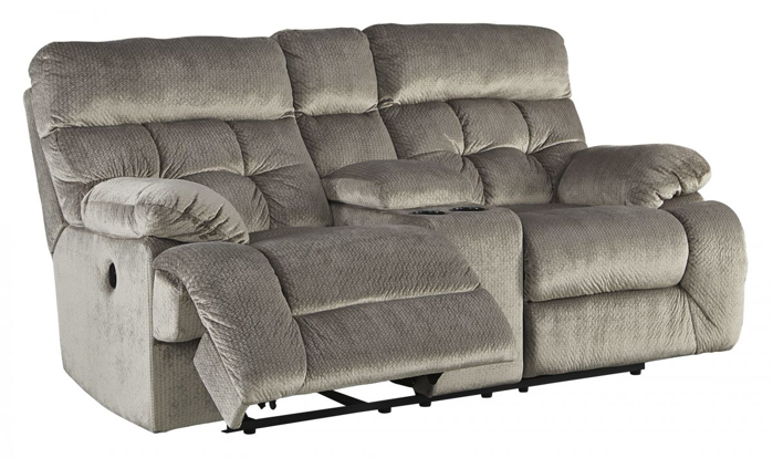 Picture of Brassville Reclining Power Loveseat