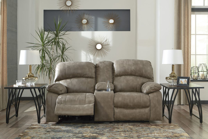 Dunwell Reclining Power Loveseat