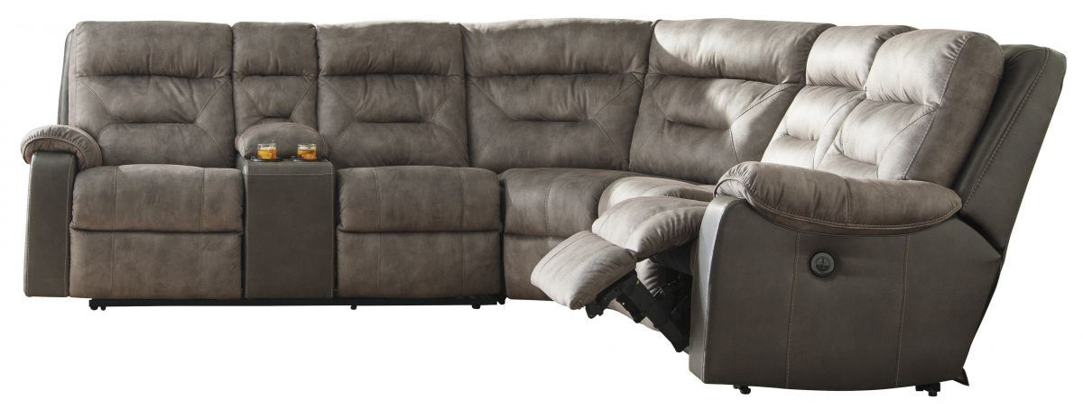 Hacklesbury Reclining Power Sectional