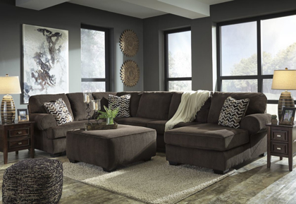 Picture of Jinllingsly Sectional with Ottoman