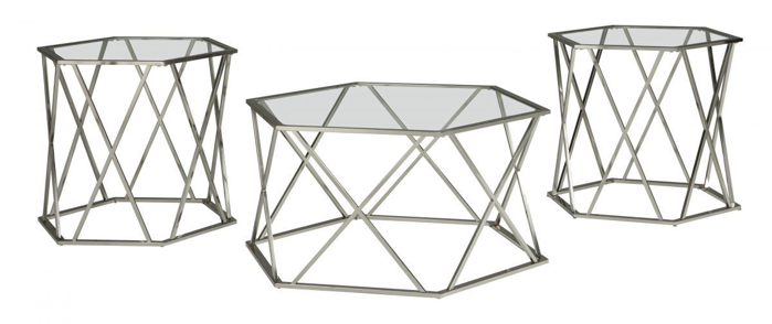 Picture of Madanere 3 Piece Table Set