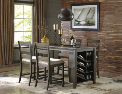 Picture of Rokane Pub Table & 4 Stools