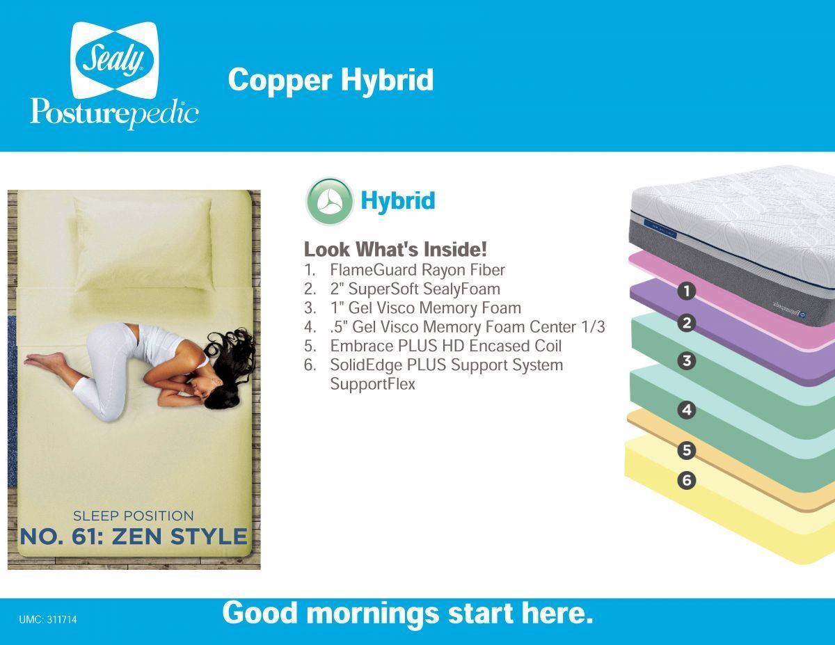 Picture of Copper Hybrid Mattress