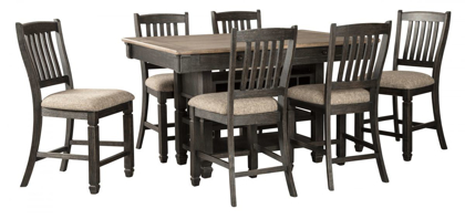 Picture of Tyler Creek Pub Table & 6 Stools