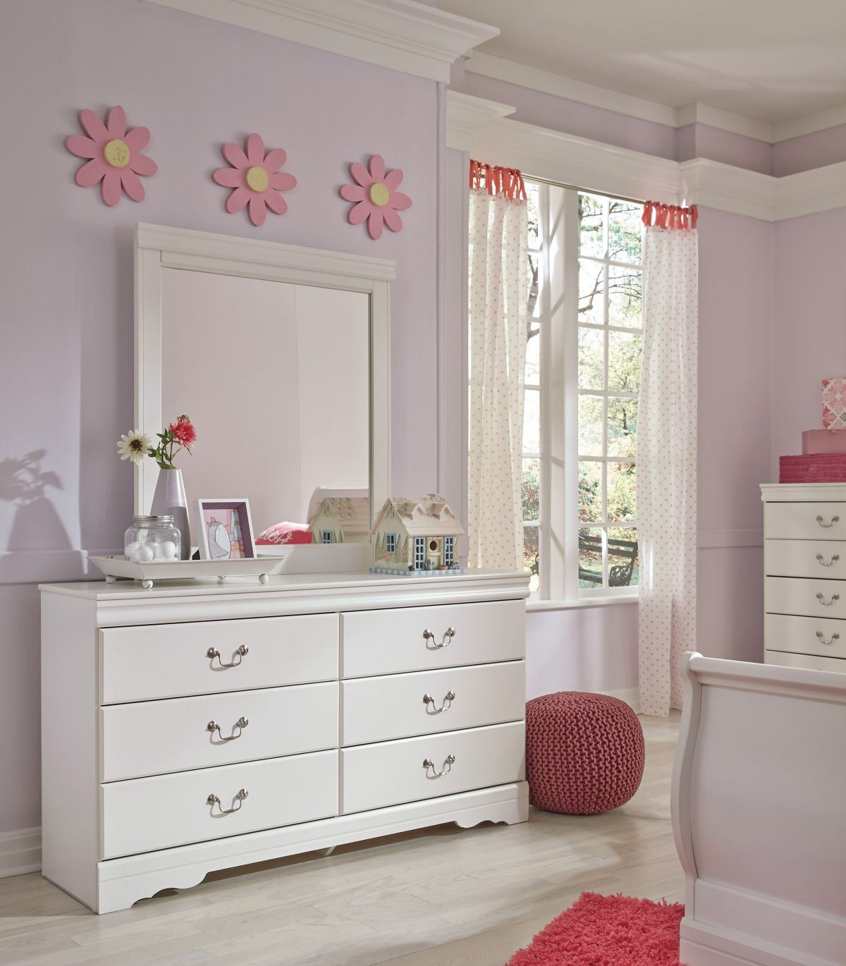 Picture of Anarasia Dresser & Mirror