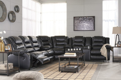 Picture of Vacherie Reclining Sectional