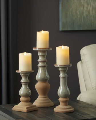 Picture of Emele 3 Piece Candle Holder Set