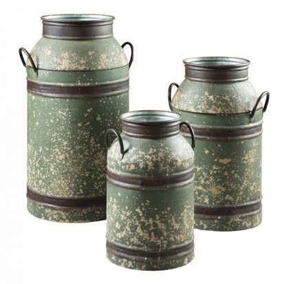 Picture of Elke 3 Piece Milk Can Set