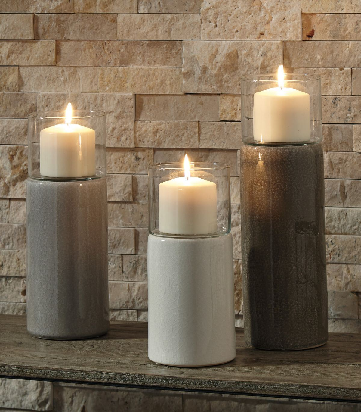 Picture of Deus 3 Piece Candle Holder Set