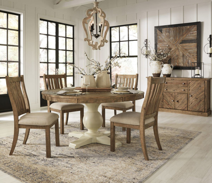 Picture of Grindleburg Table & 4 Chairs