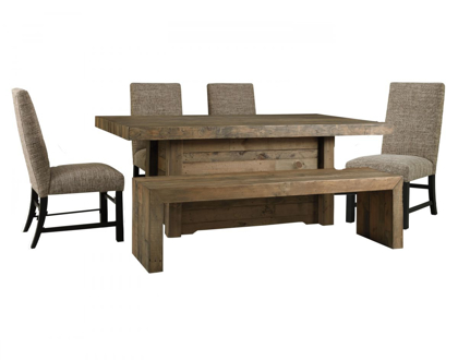 Picture of Sommerford Table, 4 Chairs & Bench