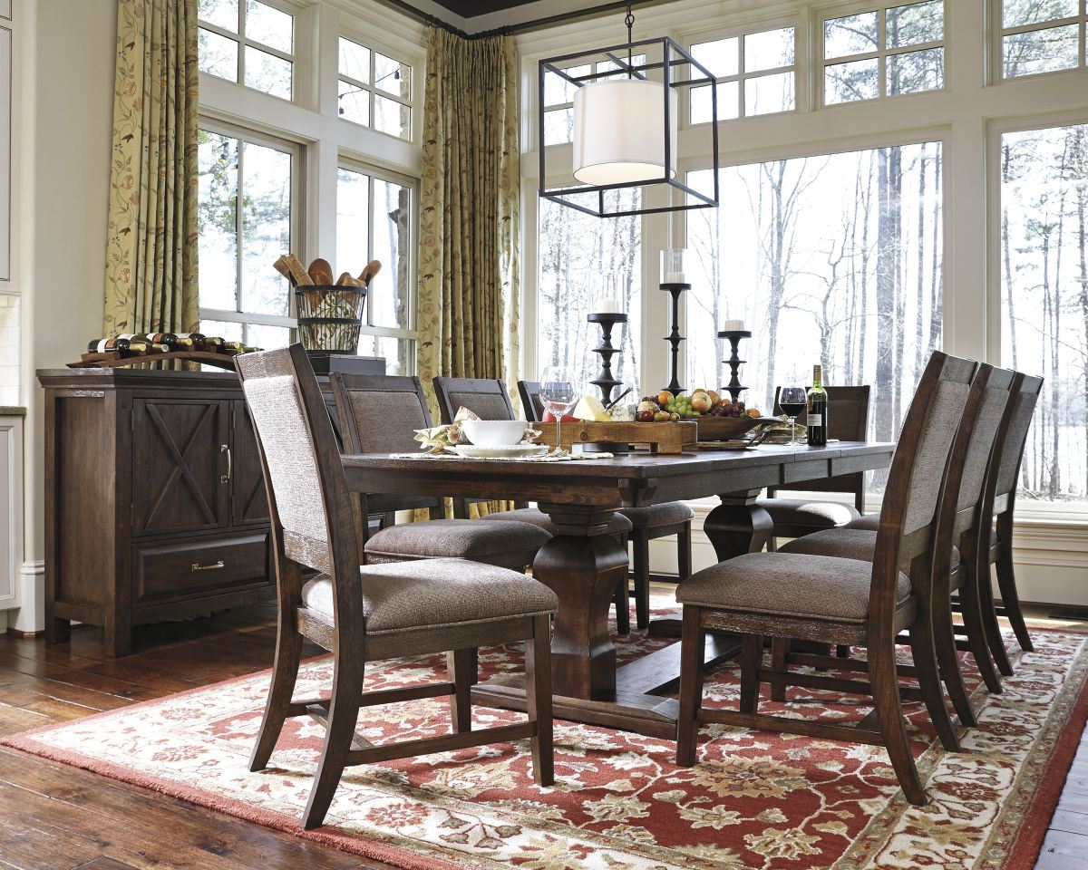 Picture of Windville Table & 8 Chairs