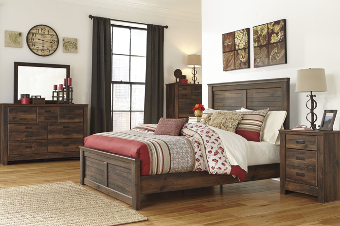 Picture of Quinden 5 Piece Queen Bedroom Group