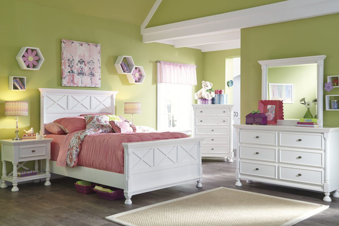 Picture of Kaslyn 5 Piece Full Bedroom Group