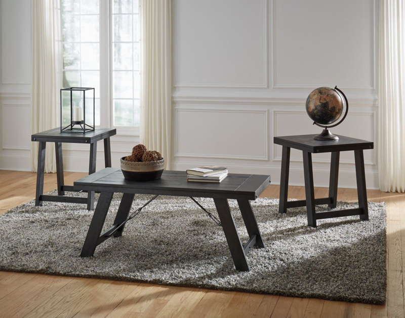 Noorbrook 3 Piece Table Set