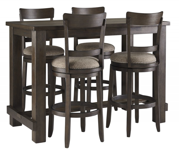 Picture of Drewing Bar Table & 4 Stools