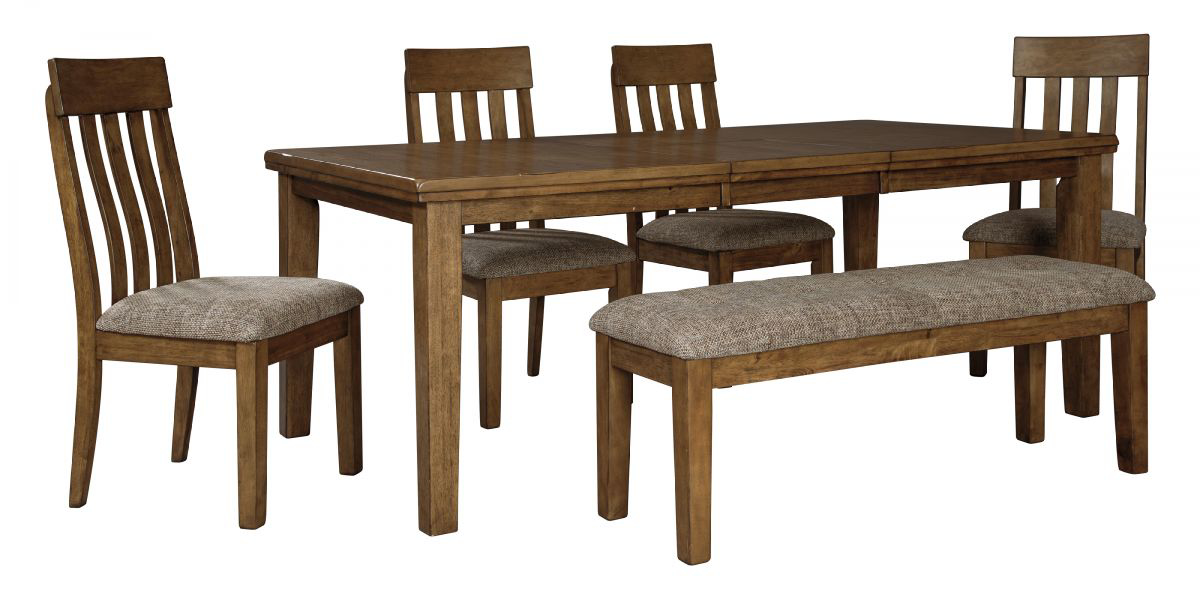 Picture of Flaybern Table, 4 Chairs & Bench