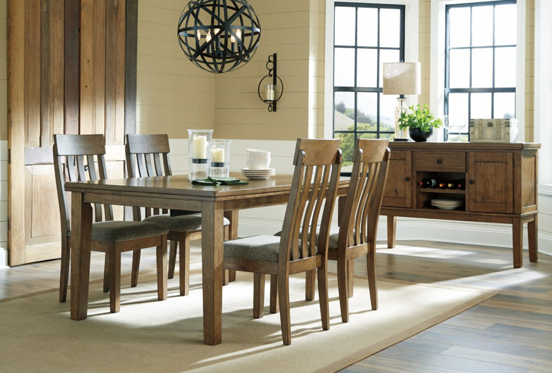 Flaybern Table & 4 Chairs