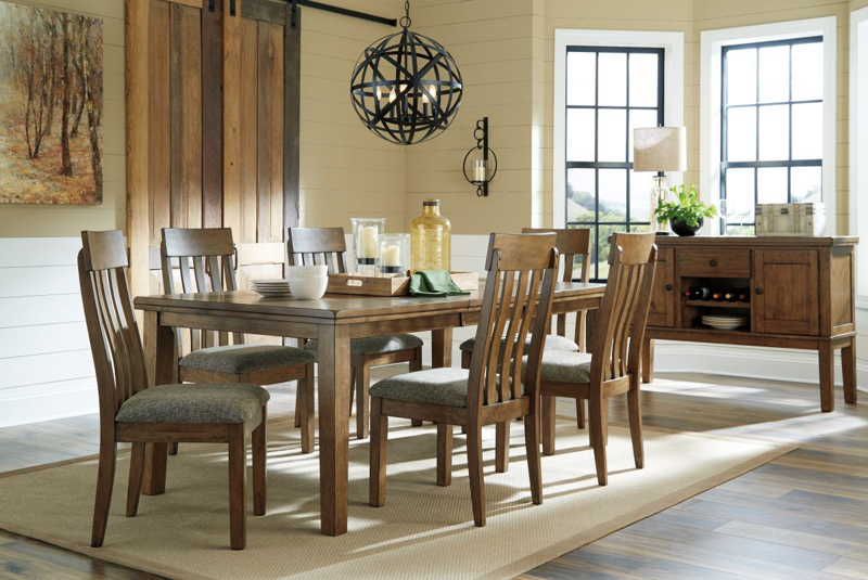 Flaybern Table & 6 Chairs
