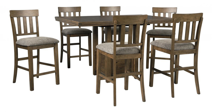 Picture of Flaybern Pub Table & 6 Stools