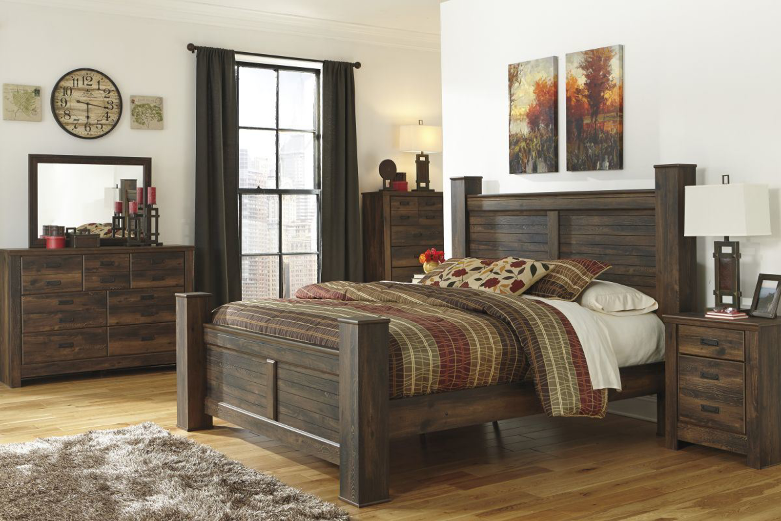 Picture of Quinden 6 Piece King Bedroom Group