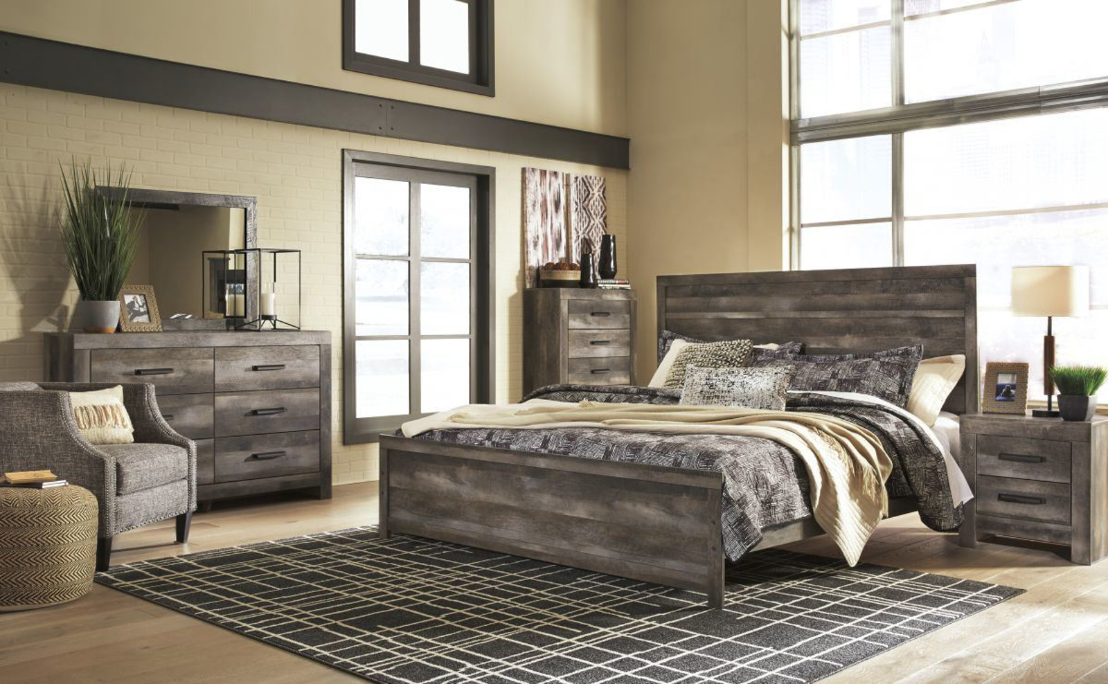 Picture of Wynnlow 6 Piece King Bedroom Group