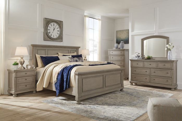 Picture of Lettner 6 Piece King Bedroom Group