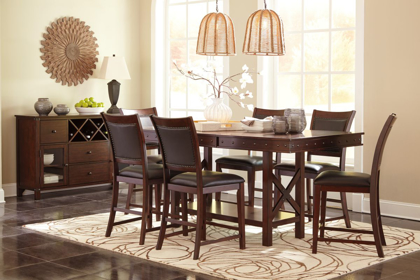 Picture of Collenburg Pub Table & 6 Stools