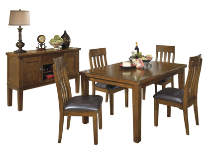 Picture of Ralene Table, 4 Chairs & Server