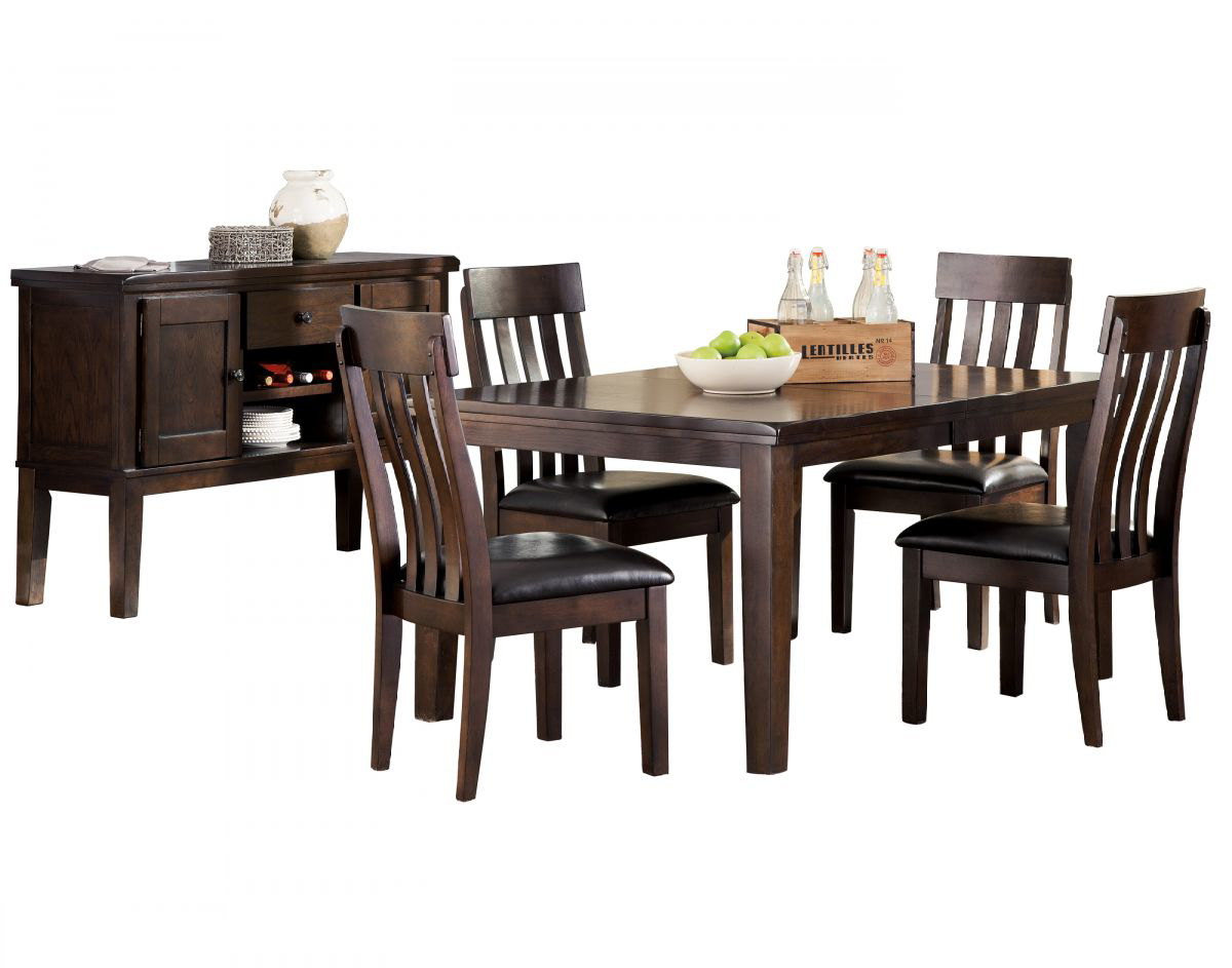 Picture of Haddigan Table, 4 Chairs & Server
