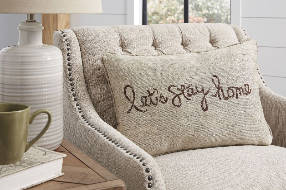 Picture of Let's Stay Home Accent Pillow