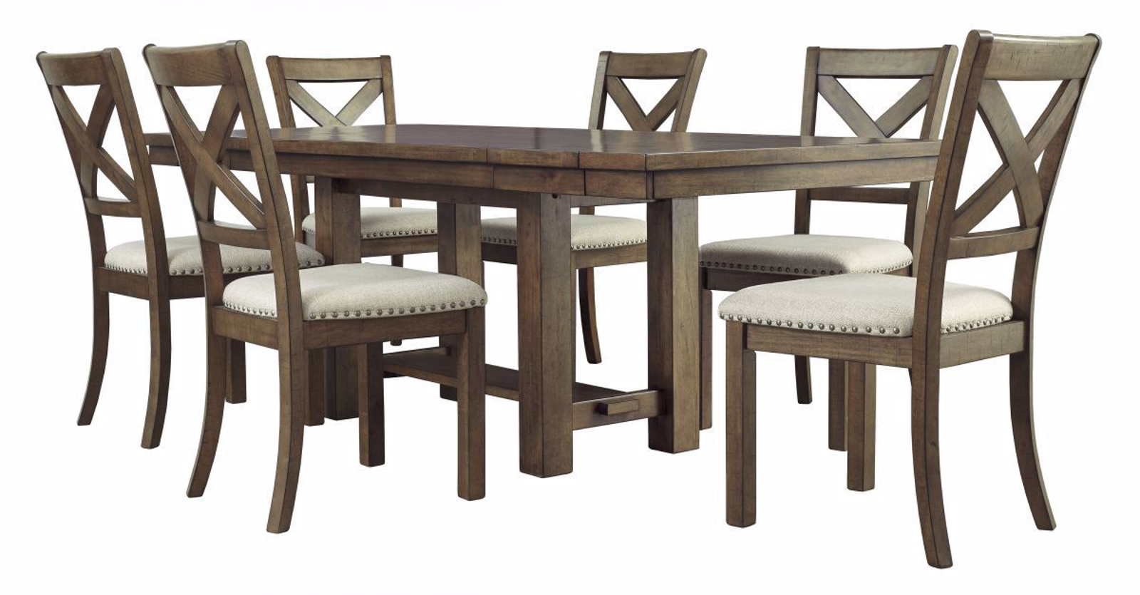 Pleasant Moriville Table 6 Chairs Ncnpc Chair Design For Home Ncnpcorg